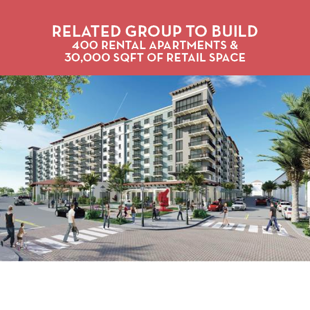Related Group to Build Rental Apartments and Retail Space