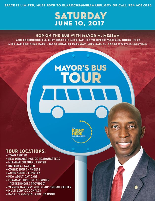 Mayor's Bus Tour