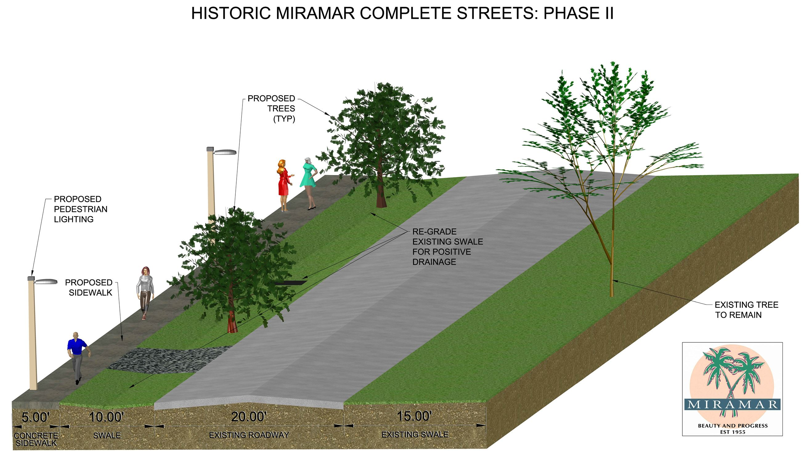 Historic Miramar Complete Streets 2